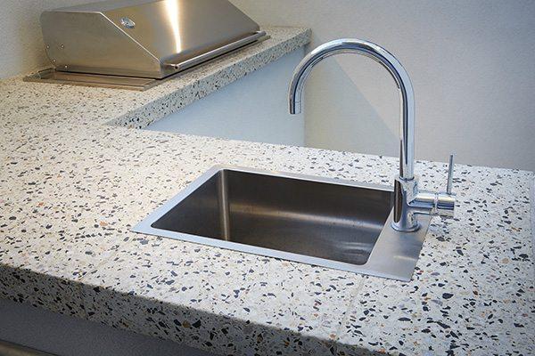 WA Exposed Concrete Benchtop