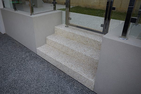 WA Exposed Concrete Steps